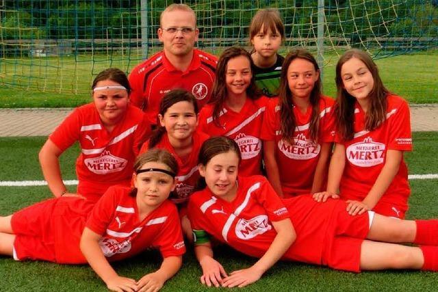 388 Gegentore: Mädchenteam ist auch sieglos glücklich