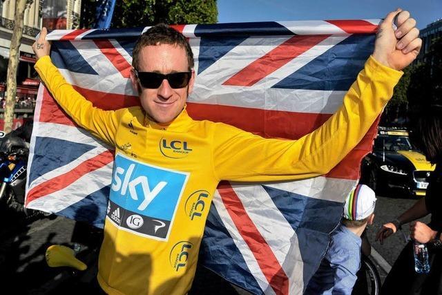 Übermacht der Briten im Radsport