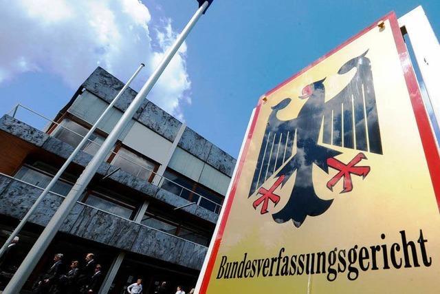So treibt ein Gundelfinger das Verfassungsgericht in die Enge