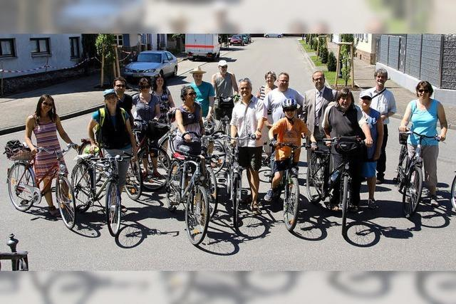 Informative Radtour durchs Ried