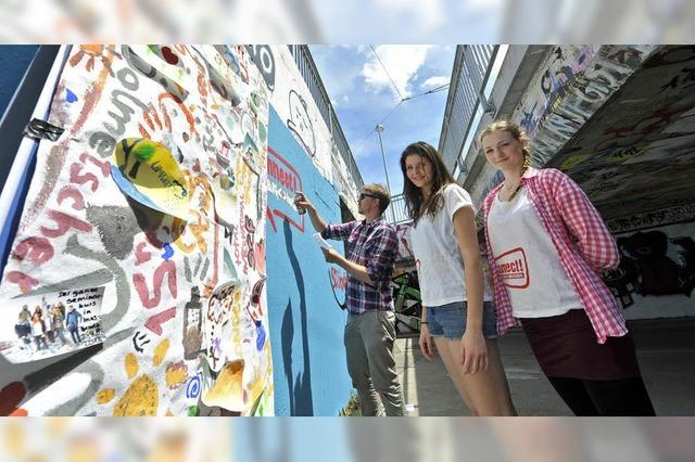 Graffiti statt mündlicher Prüfung