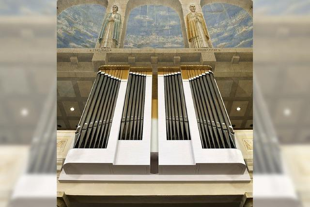Noble Klänge aus der Brüstung