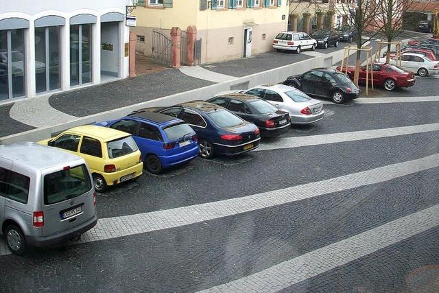 Mehr Parkplätze als benötigt werden
