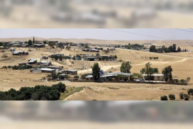 Israel will Negev-Wüste aufblühen lassen
