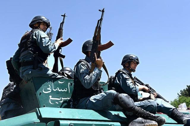 Von jetzt an ist Kabul für die Sicherheit zuständig