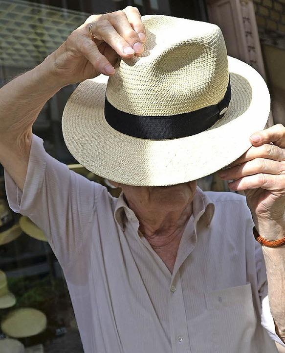 Dahinter steckt ein Hutmacher: Rudolf Dickten  | Foto: Philipp Schulte