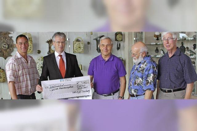 Jetzt geht es ans Geldeinsammeln für den Sportverein Eisenbach