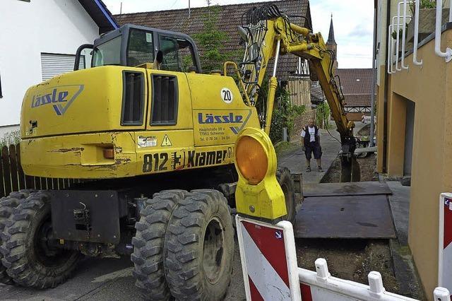 Straßenbau geht weiter