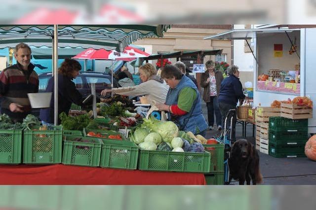 Marktstätte mit langer Tradition