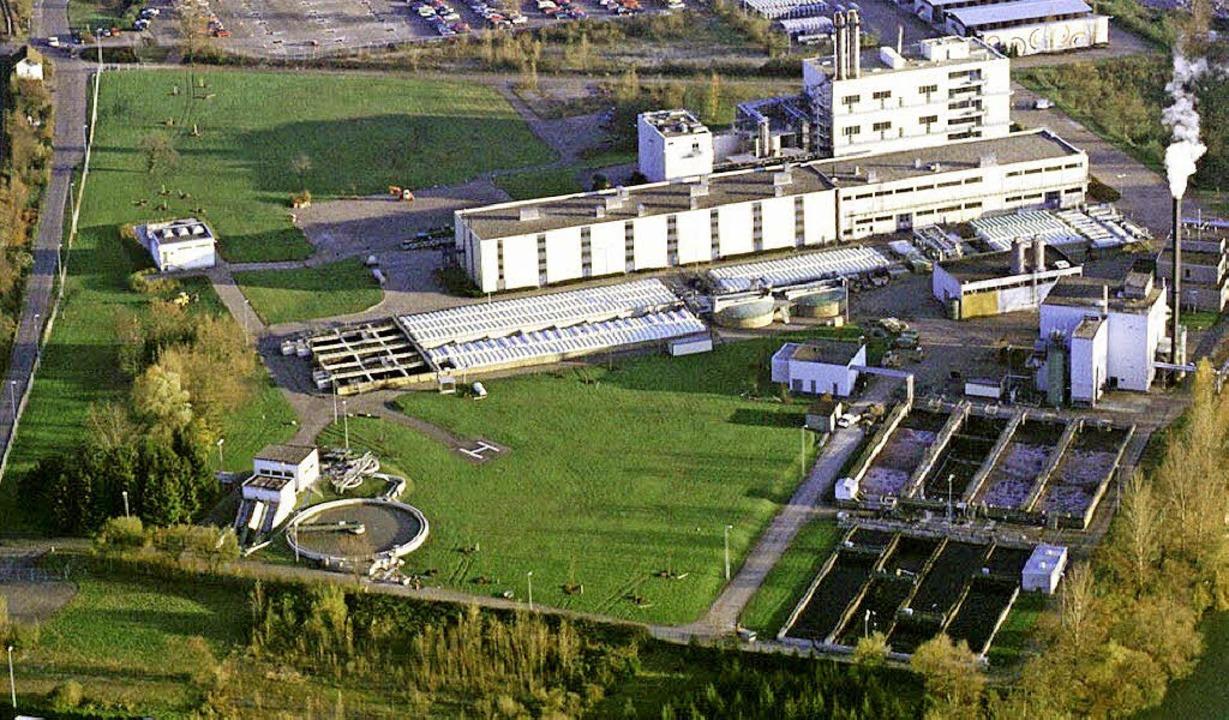 Der Bereich der Kläranlage auf dem BAS... alles zusammen ist die Kesslergrube.     Foto:  Archiv