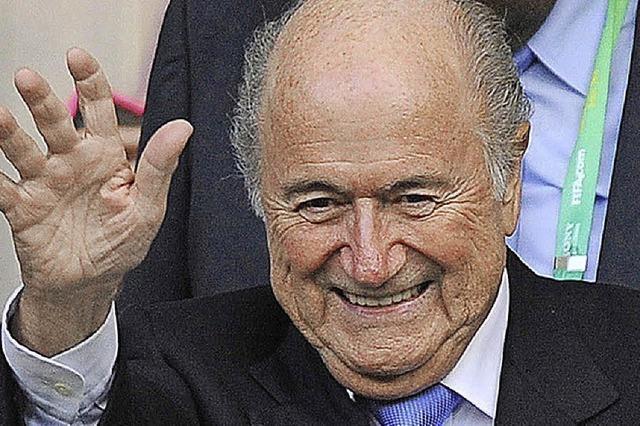 Joseph Blatter, der schockierte Fußballfürst