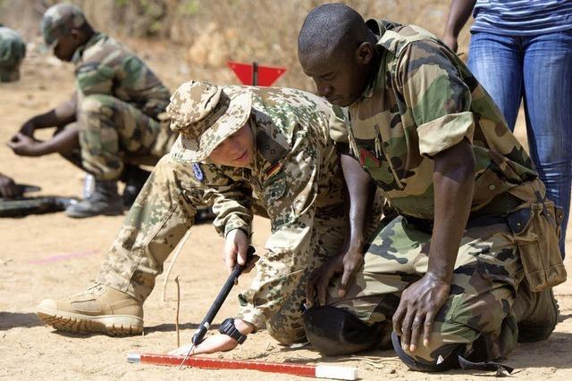 Auf Ausbildungseinsatz in Mali