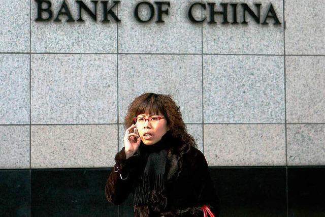 Chinas Banken geht das Geld aus