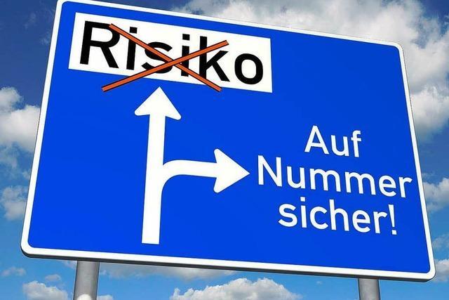 Bei Geldanlagen soll das Risiko breit gestreut werden