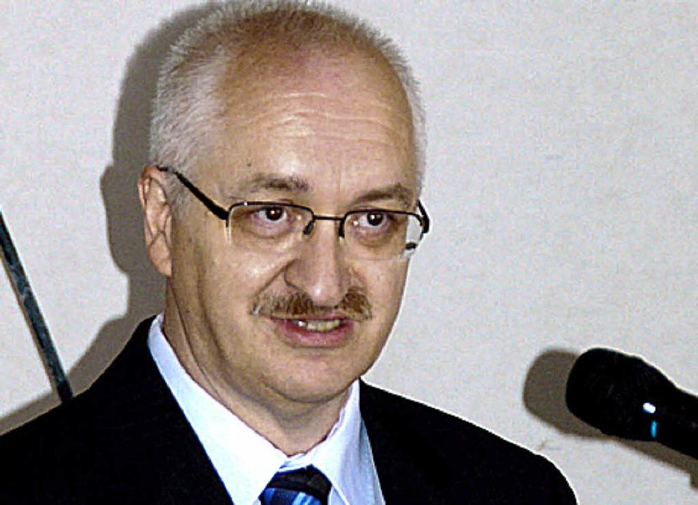 Hans-Jürgen Seelos  | Foto: Archivfoto: Truöl