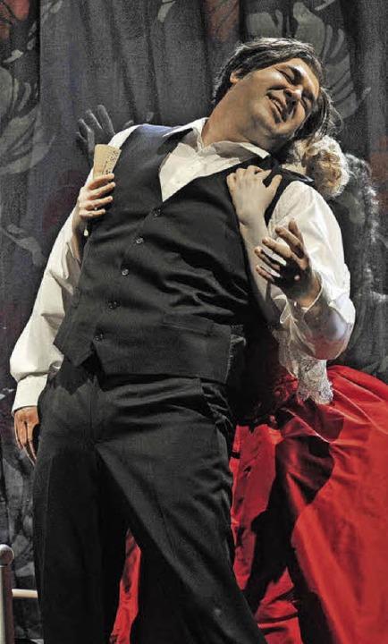 "Szene aus ""Pique Dame"" am Freiburger Theater   | Foto: Maurice Korbel"