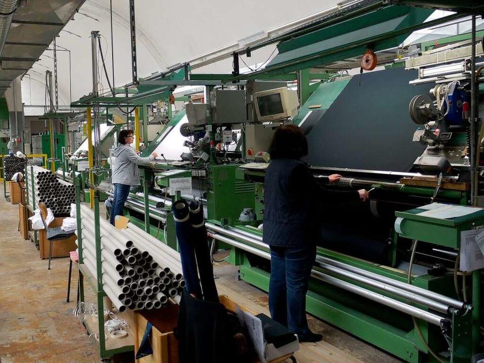Im April liefen in den Brennet-Werken die letzten Stoffe über die Maschinen.   | Foto: Archivfoto:Hans Loritz