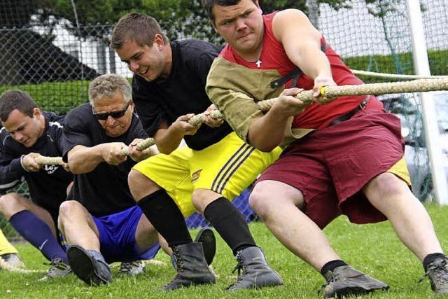 Mit Spaß beim Sport dabei
