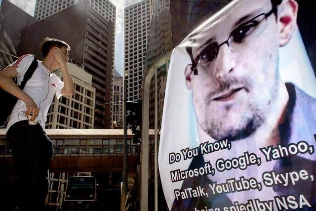 Snowden ist in Moskau