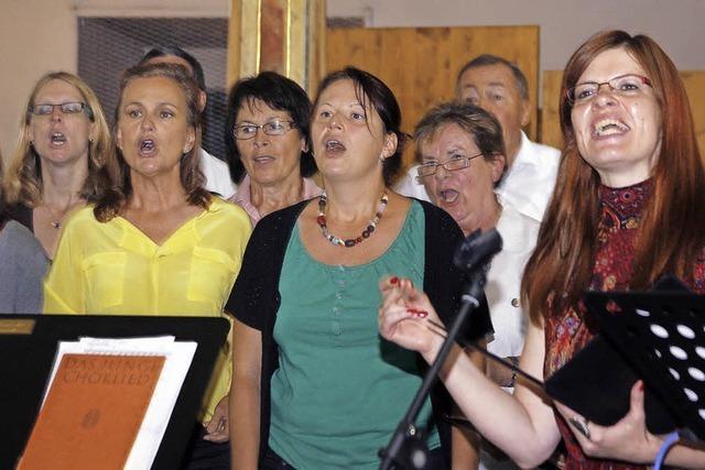 Chor ist seit 50 Jahren unterwegs mit Gott
