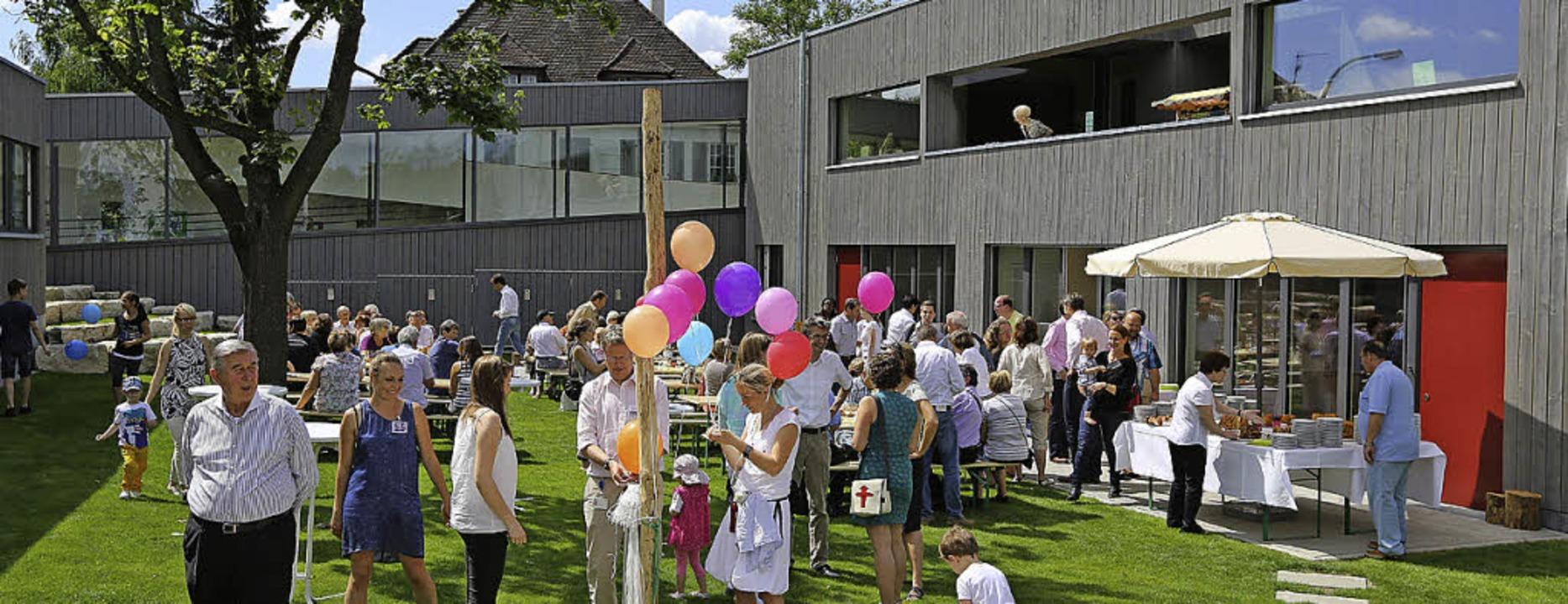 Fröhliche Stimmung herrschte beim Fest in der Roche-Kita.   | Foto: Privat