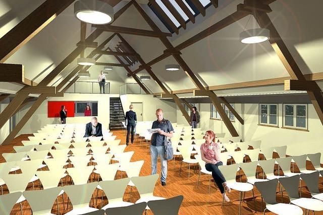 Hofsgrunder Rathaus wird umgebaut