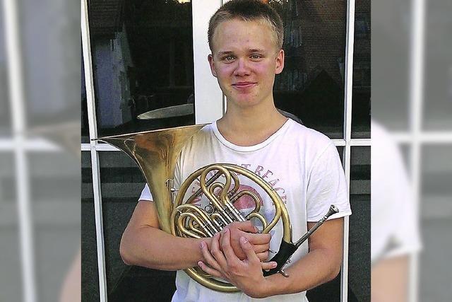 Erster Stadtmusikant, der Gold holt