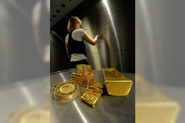 Goldpreis stürzt ab, weil die Inflationsgefahr schwindet