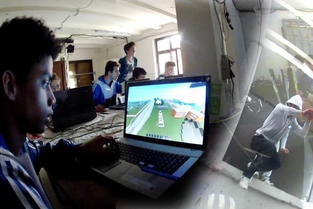 Freiburger Schüler bauen Straßen in ein PC-Spiel ein