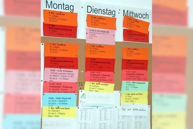 Unterrichten statt Organisieren