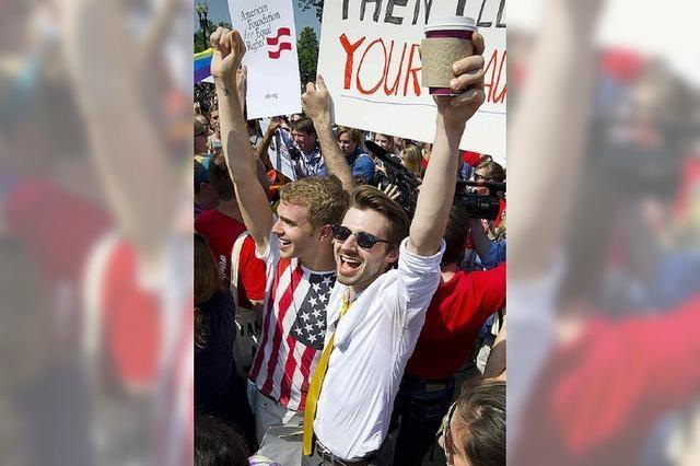Supreme Court stärkt Homo-Rechte