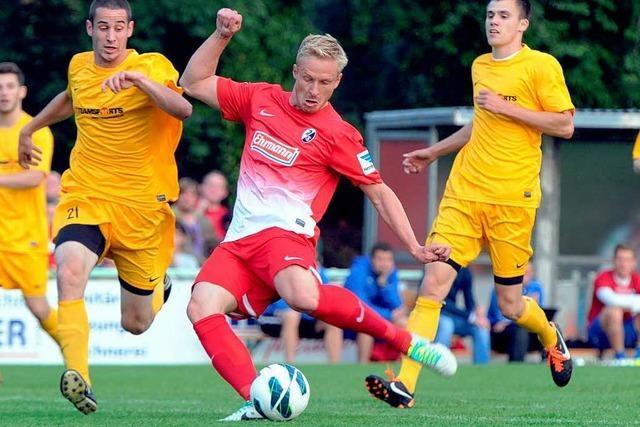 SC Freiburg gewinnt erstes Testspiel mit 10:0
