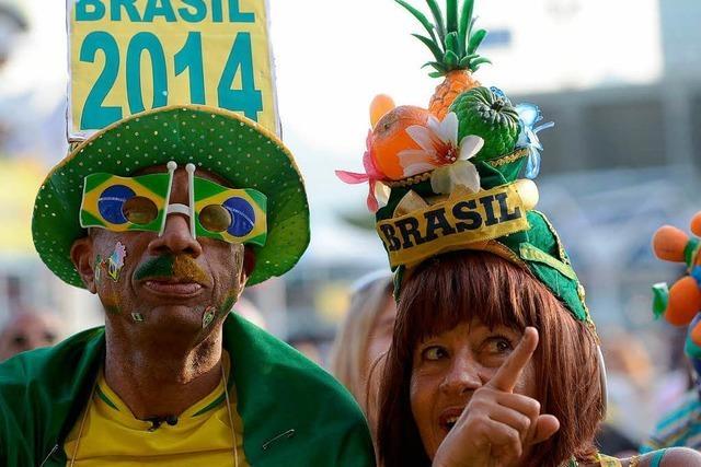Confed-Cup: Brasilien zieht wieder ins Finale ein