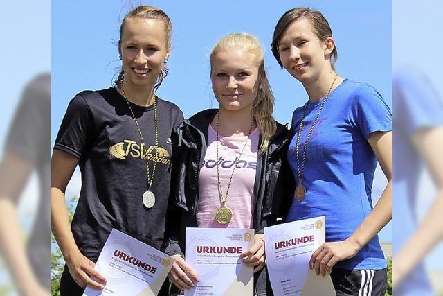 Goldmedaille für Sophia Sommer
