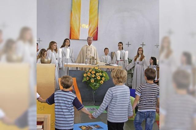 Vörstettens Katholiken feiern den 15. Geburtstag