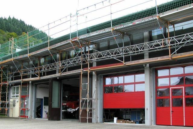 Gerätehaus der Feuerwehr muss saniert werden