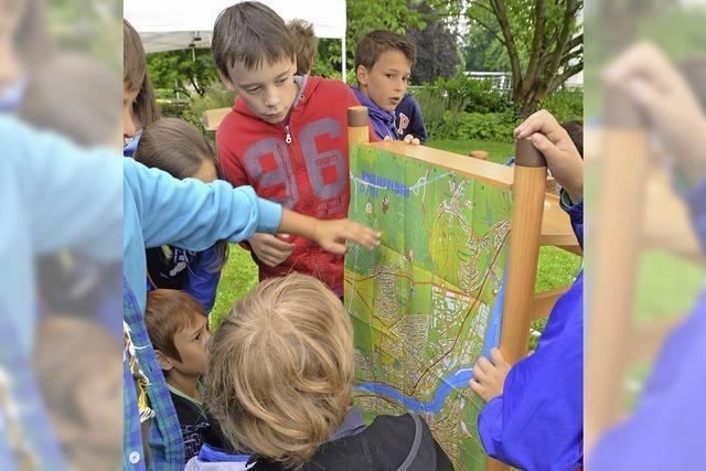 Kinder bekommen eigenen Stadtplan