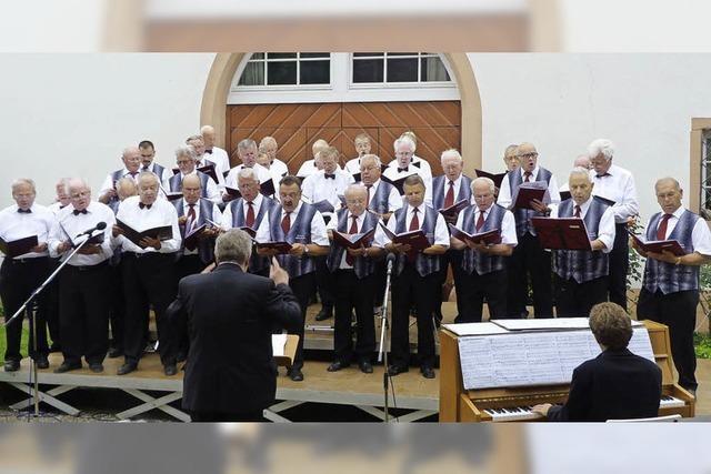 Musikgenuss im Schlossgarten