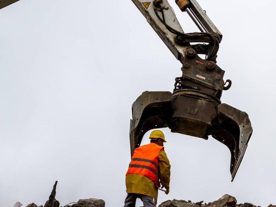 Das Dreikönigshaus muss abgerissen werden.  | Foto: Carlotta Huber