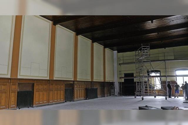 Ein Schmuckstück für die Stadt: Dreikönigsaal wird restauriert