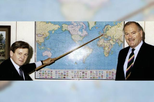 Die Münstertäler Roland Fuchs und Bernhard Brender haben in Fernost Karriere gemacht