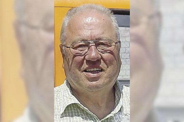 Siegfried Munz wurde in den Ruhestand verabschiedet