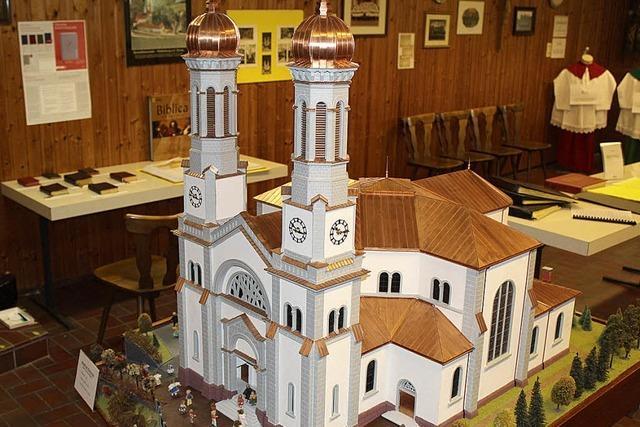 Gründung der Pfarrei mit Todtnauer Silber honoriert