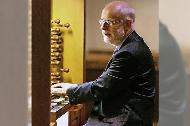 Ton Koopmann an der Orgel