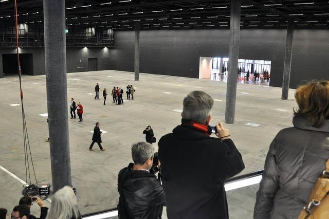 Messe öffnet Neubau für jedermann
