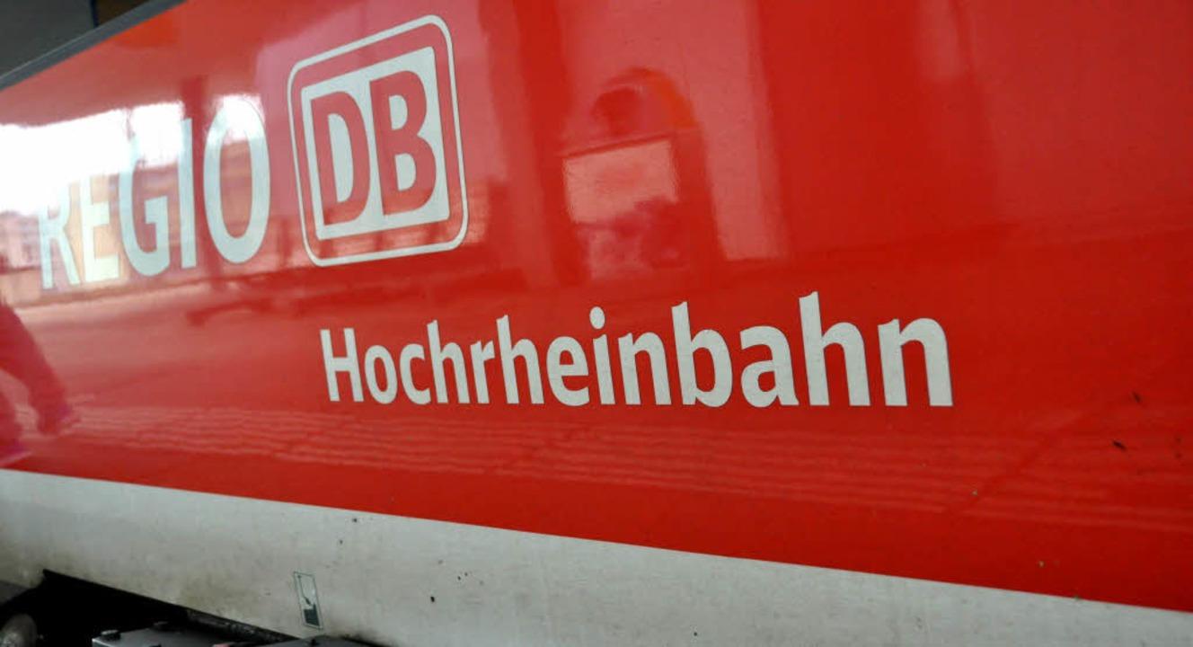 Strom für die Hochrheinbahn bleibt tro...en Schweizer Position auf der Agenda.   | Foto: Gramespacher