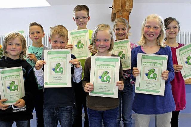 Auszeichnung für junge Lesetalente