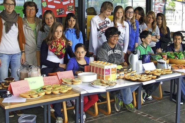 Faires Frühstück in der Schulpause