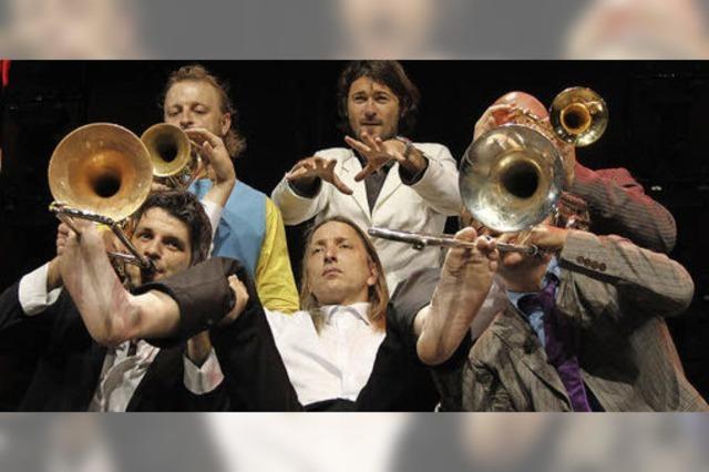 Mnozil Brass beim ZMF: Mordsmusikalisch
