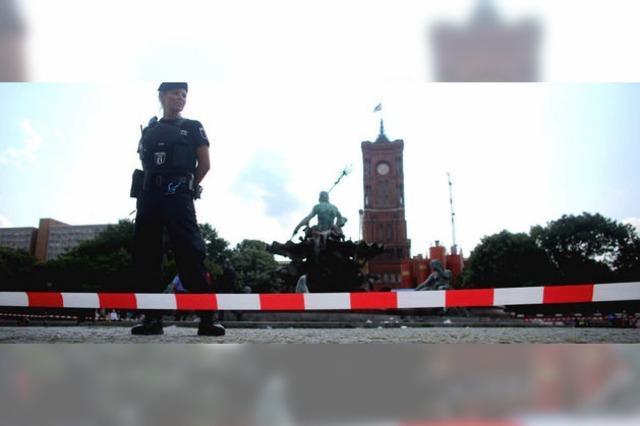 Polizist erschießt nackten Mann nach Messerattacke
